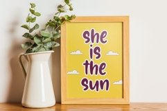Sunglory Lovely Handwritten Font Product Image 4