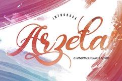 Arzeta | Handmade Playful Script Product Image 1