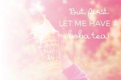 Boba Lover Script Font Product Image 3
