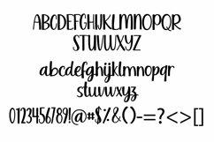 Web Font Night life - a sweet handwritten script font Product Image 4