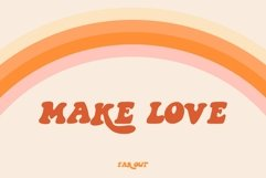Far Out! - A Groovy Typeface Product Image 5