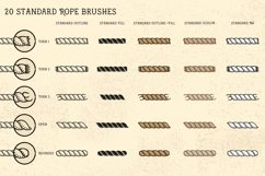 Sailor Mate's Rope Brushes III - Dots Product Image 2