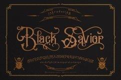 Black Savior - decorative calligraphy Display Font Product Image 2