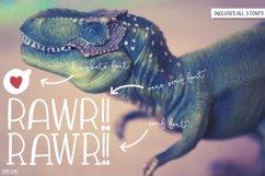 Rawr Sans Serif Font Trio Product Image 3