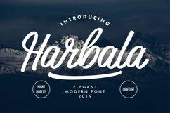 Harbala   Elegant Modern Script Font Product Image 1