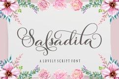 Salsadila Script Product Image 1
