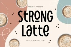 Strong Latte - Stylish Display Font Product Image 1