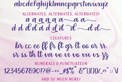 Dreamery Script and Sans Handwritten Feminine Font Trio Product Image 3