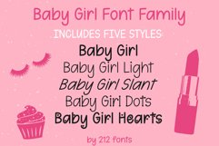 212 Baby Girl Handwritten OTF Font Family Product Image 5
