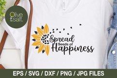 Sunflower svg bundle, sunshine svg bundle, motivational svg Product Image 5
