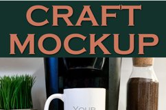 Mockup   Sublimation Mug Coffee   Craft mock up Product Image 2