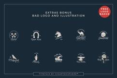 Berliana Monoline Font Extrass Logo Product Image 4