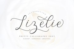 Lizelie Calligraphy font Product Image 1
