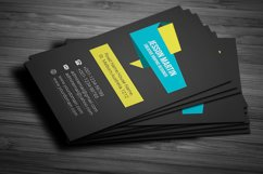 Stylish Modern Business Card Template Design Product Image 3