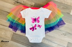 Purple Watercolour Butterflies Product Image 4