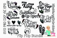Flip Flops SVG Bundle | Flip Flop SVG | Summer SVG | SVG Product Image 1