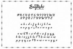 The English Font - Vintage Lettering Product Image 5