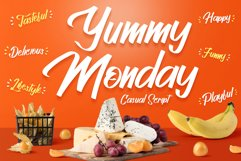 Casual Script Font - Yummy Monday Product Image 1