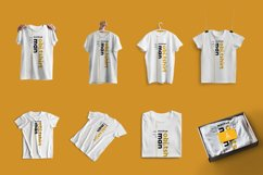 8 Mockups T-Shirts on the Hangers Product Image 3