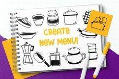 Web Font Kitchenware Dingbat Product Image 3