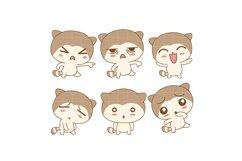 Kawaii Bunny Emotions Product Image 1