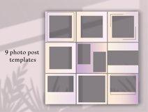 Minimal instagram template.Instagram Feed Product Image 5