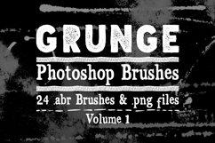 Photoshop Brushes - Grunge Texture Brushes Vol 1 Product Image 1