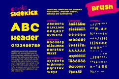 Comic Sidekick A Screwball Comedy Font Family! Product Image 4