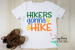 Hikers Gonna Hike SVG - Outdoor Backpacking SVG Product Image 3