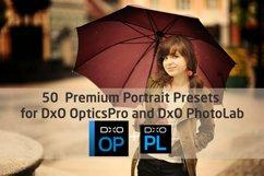 50 Premium Portrait Presets for DxO OpticsPro, DxO PhotoLab Product Image 1