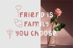 Morning Lovening | Cute Display Font Product Image 5