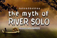 THE MYTH of RIVER SOLO Product Image 1