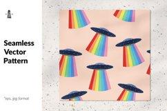 Ufo seamless pattern Product Image 1