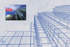 Architect Blueprint Photoshop Action Product Image 2