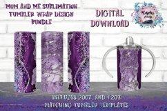 20oz| 12oz |Sublimation Skinny Tumbler Wrap | Design Bundle Product Image 1
