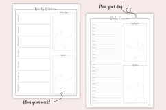 Printable Bullet Journal - Planner Bundle - Planner Kit, PDF Product Image 6