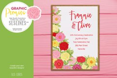 Pretty Peonies in Pink & Yellow Product Image 6