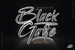 Black Gatte - Brush Script Font Product Image 1