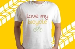 Bicycle Track - Quirky Display Font Product Image 3