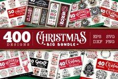 Christmas BIG Bundle SVG bundle 400 designs Product Image 1