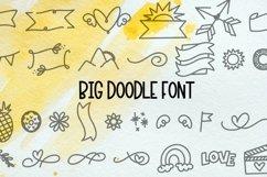 Web Font Big Doodle Font For Word Art - Dingbat Web Font Product Image 1