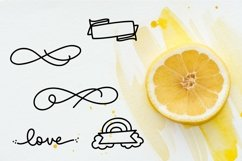 Web Font Big Doodle Font For Word Art - Dingbat Web Font Product Image 3