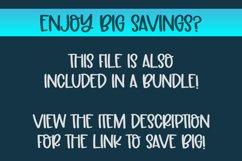 Snow SVG Cut File | Christmas SVG Cut File Product Image 2