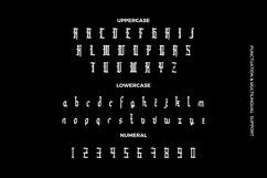 Web Font Bindgane - Blackletter Font Product Image 2