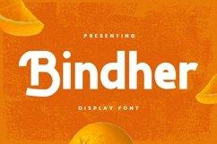 Web Font Bindher Font Product Image 1