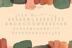 Bistro Pop   Clean Vintage Lettering   Multilingual Product Image 2