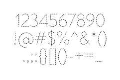 School Days Dash - Handwriting Practice Font Product Image 6