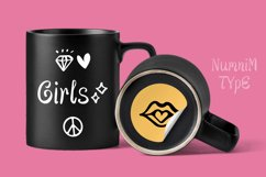Cute Girls - Child font with doodle glyphs Product Image 4