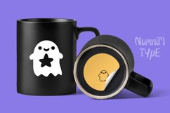 Halloween Ghost Monogram Display font / Boo Procreate font Product Image 6