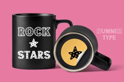 Vintage Star - Classic Display font with doodle glyphs Product Image 4